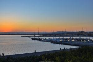porto ortigia sicilia tramonto