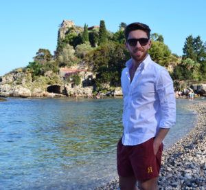 gentleman costume royal beachwear isola bella sicilia