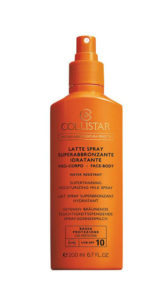 solari collistar latte spray