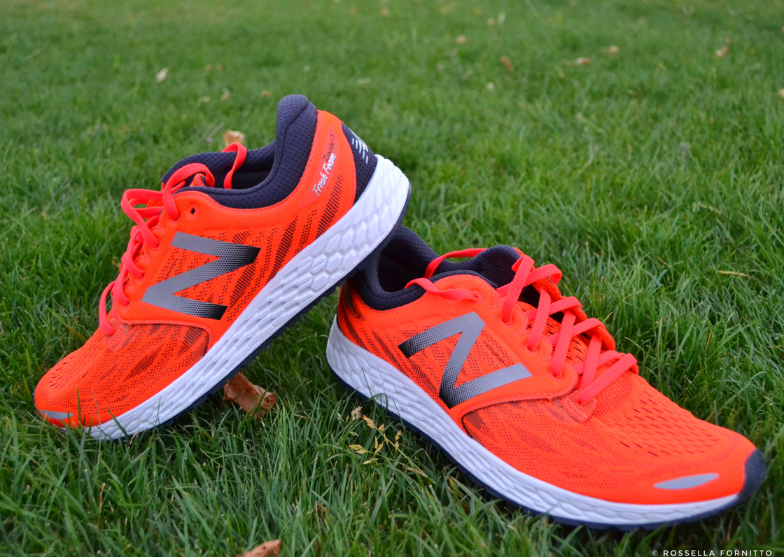 new balance fresh foam zante arancioni