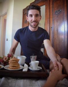 sorpresa colazione a letto gentleman