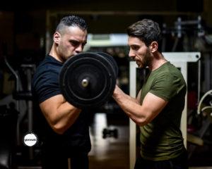 Giuseppe-Gimondo-Pietro-Fazzolari-allenamenti-in-palestra